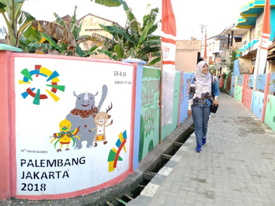 Kampung Asian Games, Kampung Asian Games Cempaka Palembang, Jurnal Suzannita