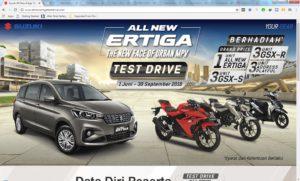 Test Drive Suzuki All New Ertiga Bisa Dapat Mobil Gratis, Yuk Test Drive Suzuki All New Ertiga Bisa Dapat Mobil Gratis, Jurnal Suzannita