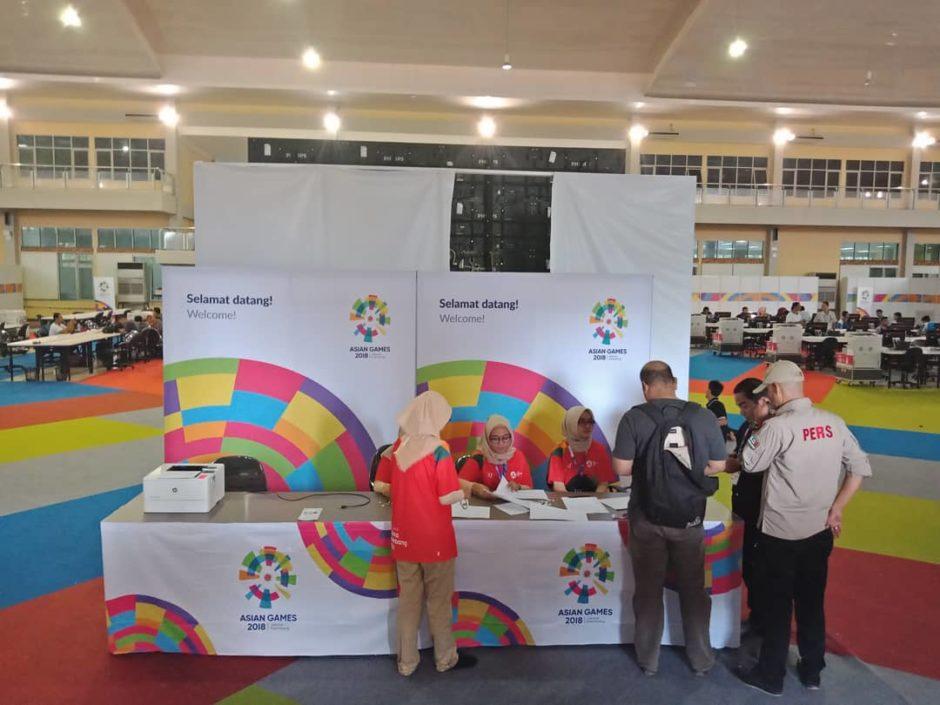 Media Center Asian Games 2018 Palembang