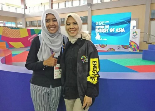 Media Center Asian Games 2018 di Palembang, Media Center Asian Games 2018 Palembang, Jurnal Suzannita