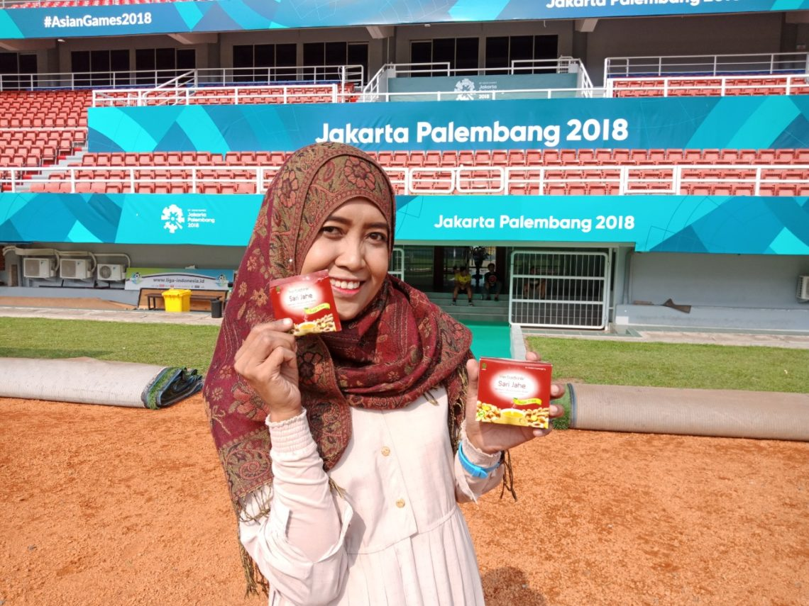 Herbadrink Suzannita Asian Games