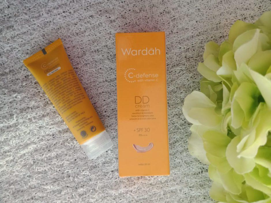 Wardah DD Cream, Wardah DD Cream C Defense With Vitamin C Review, Jurnal Suzannita