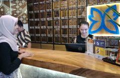 Check-in Batiqa Hotel Palembang