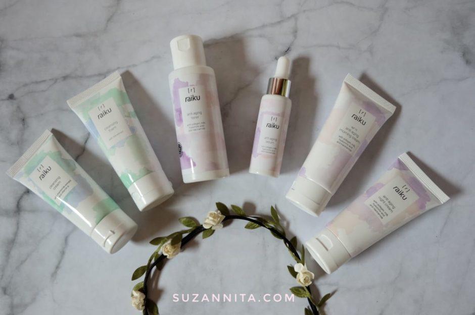 Raiku Beauty Anti Aging Series, Awet Muda dengan Raiku Beauty Anti Aging Series, Jurnal Suzannita