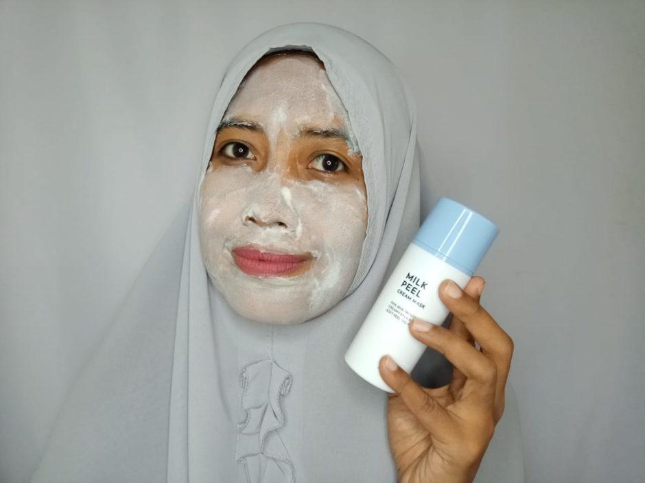 Althea Milk Peel Cream Mask, ALTHEA Milk Peel Cream Mask | Review, Jurnal Suzannita