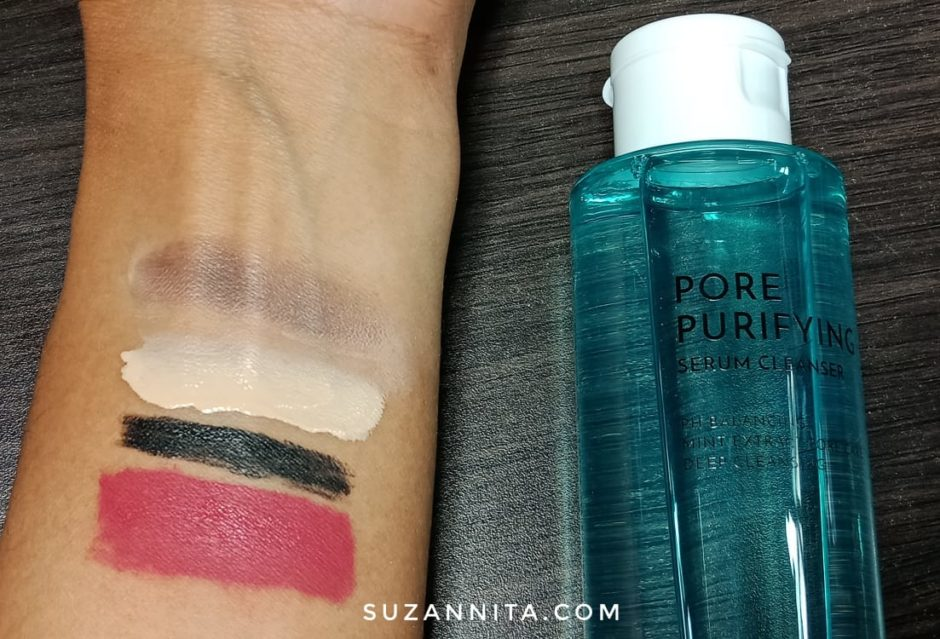 Pore Purifying Serum Cleanser, Althea Pore Purifying Serum Cleanser | Review, Jurnal Suzannita