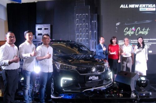 Suzuki All New Ertiga Sport Launching Palembang