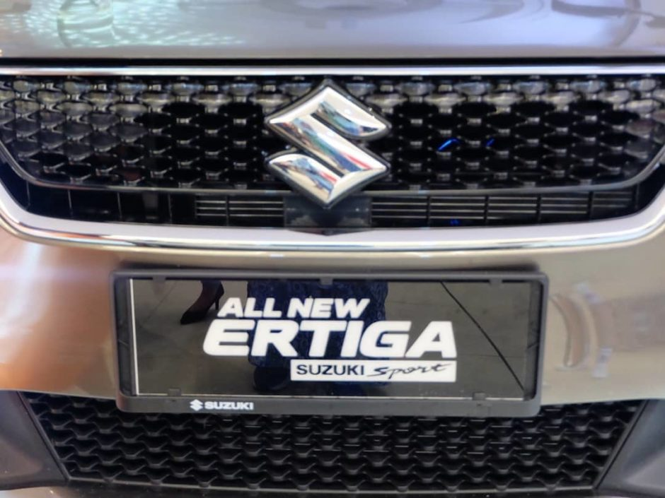 Suzuki All New Ertiga Sport depan2