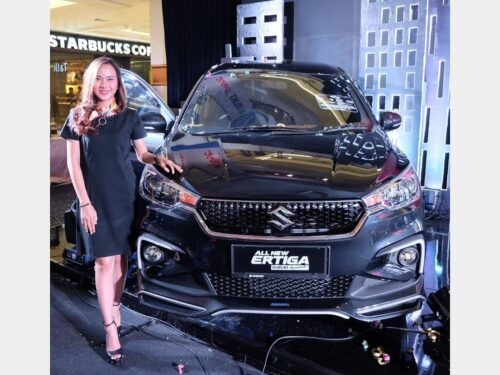 Suzuki All New Ertiga Sport model