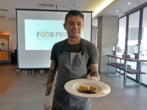 Chef Patrick Ramon Batiqa Foodprints 1