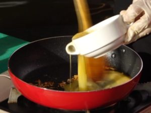 Masukkan Telur Masak Orak Arik