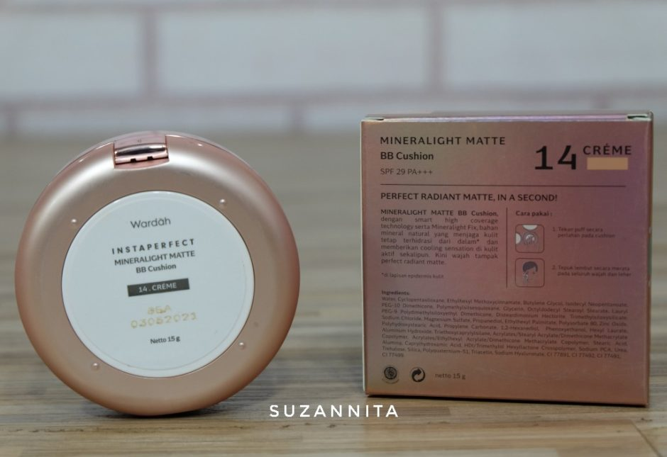 Wardah Instaperfect Mineralight Matte BB Cushion 2