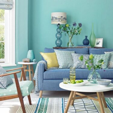 Warna Dinding Living Room