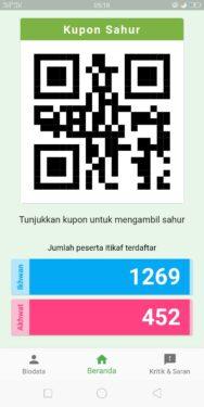 Aplikasi Itikaf