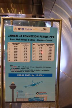 Jadwal Big Bird Airport Shuttle