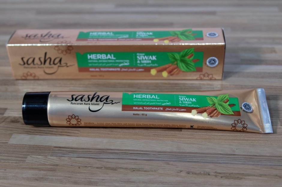 Sasha Halal Toothpaste Herbal Antibacterial 3