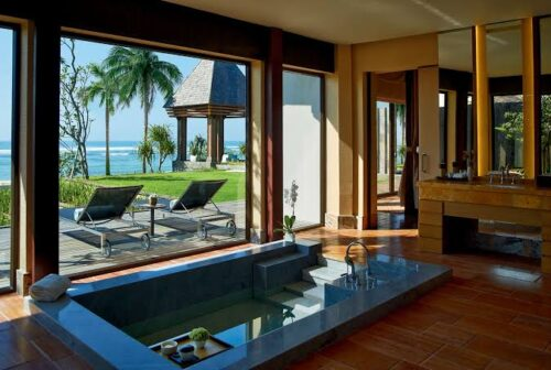 The Ritz Carlton Bali Ocean Front Bedroom