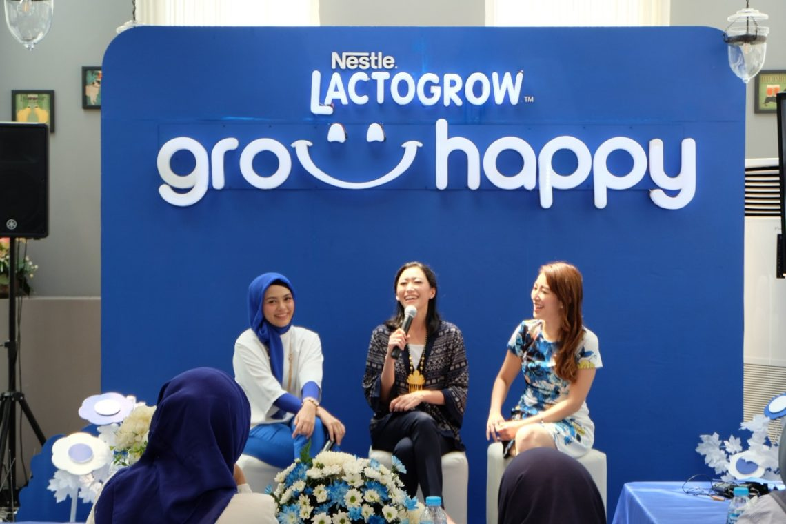 Lactogrow Grow Happy event Palembang