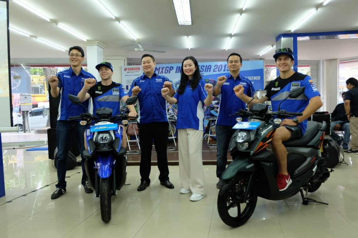 Launching Warna Baru Yamaha X ride