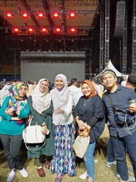 Menonton Westlife di Palembang