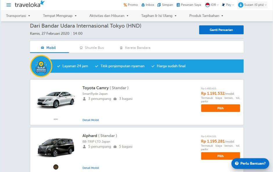 Pesan Taksi Online Bandara