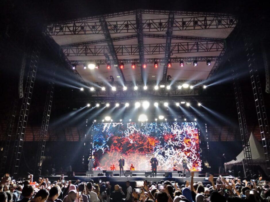 Konser Westlife Palembang