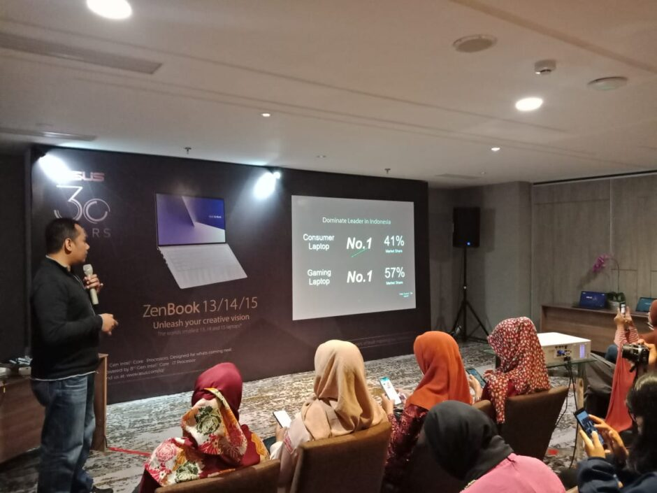 ASUS 30th Anniversary Blogger Gathering Palembang