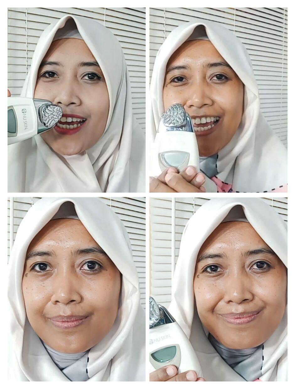 Penggunaan Galvanic Facial Spa
