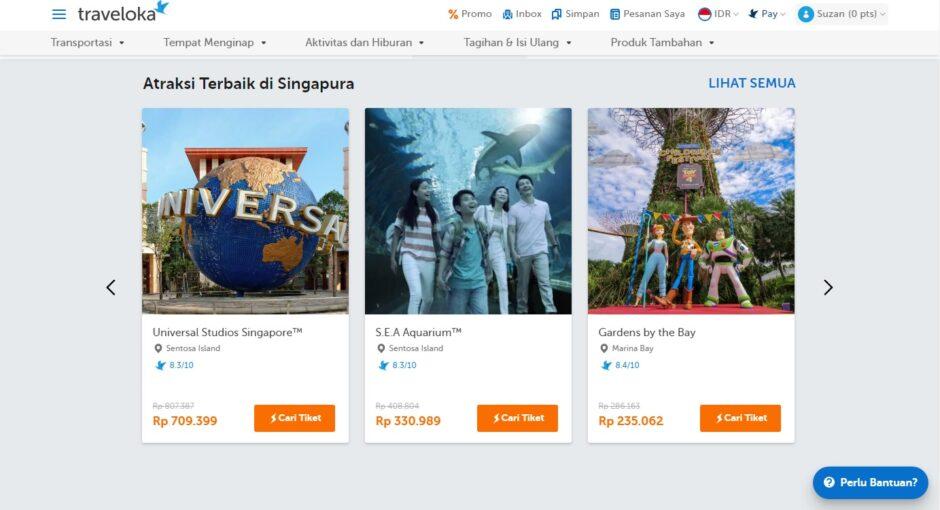 Atraksi Terbaik Singapura