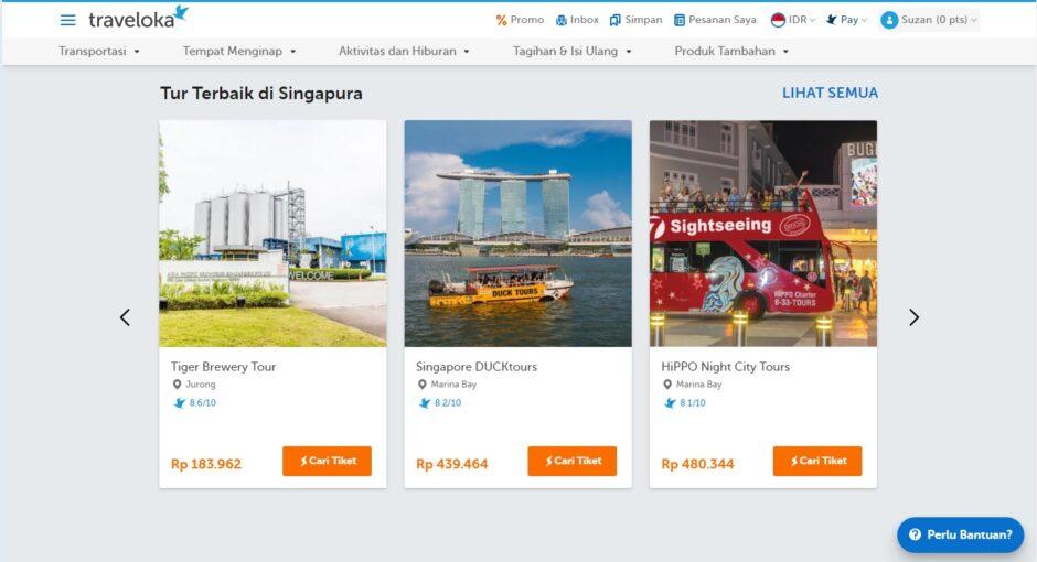 Tur Terbaik Singapura