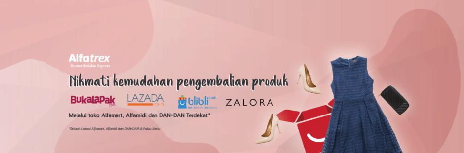 Kerjasama Alfatrex dengan E-commerce