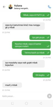Chat dengan Therapist