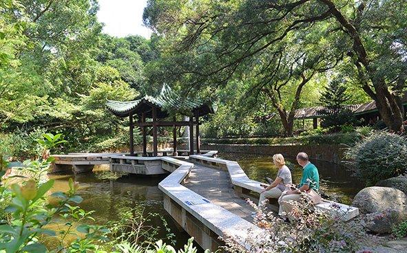 Chinese Garden Kowloon Park