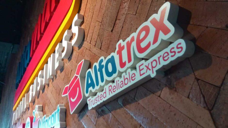 Jasa pengiriman Alfatrex