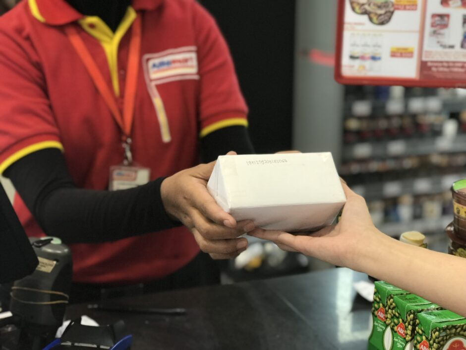 Kirim Paket di Alfamart