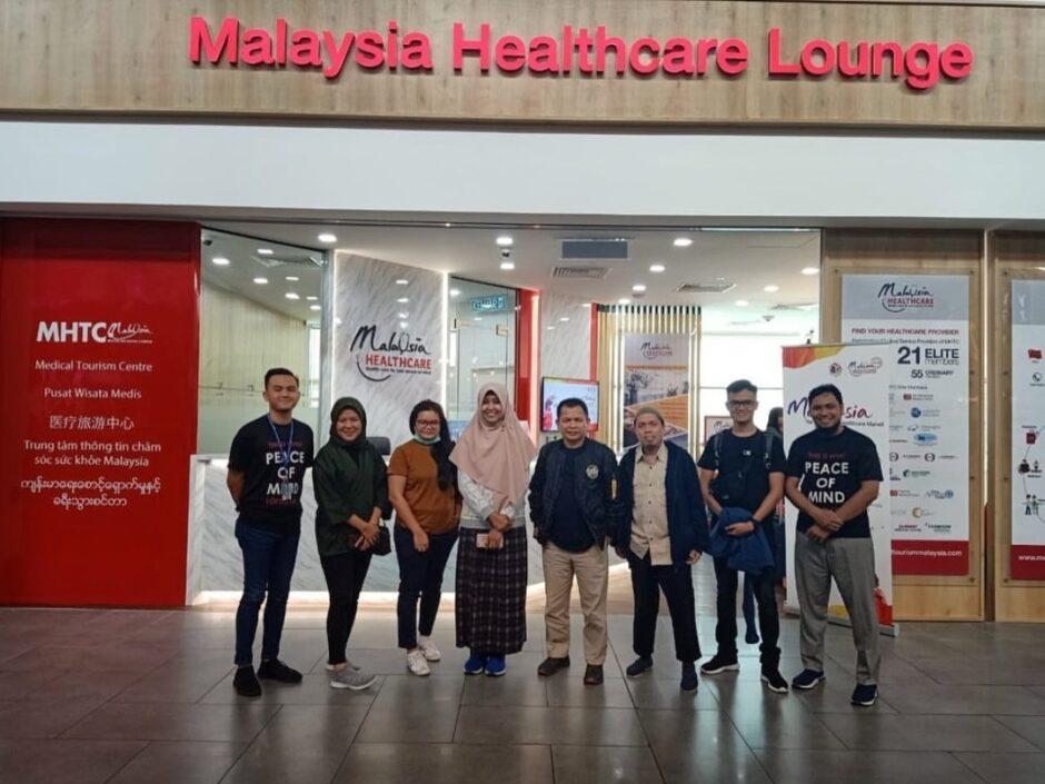 Blogger dan Media di MHTC Lounge KLIA 2 Airport