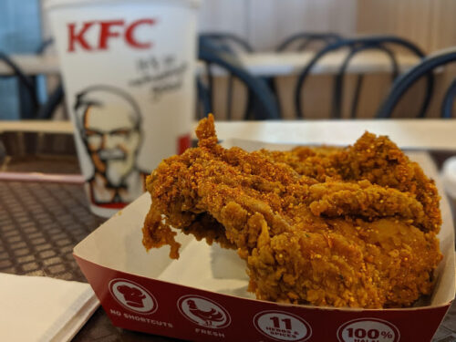 Makan KFC Sawadee Crunch
