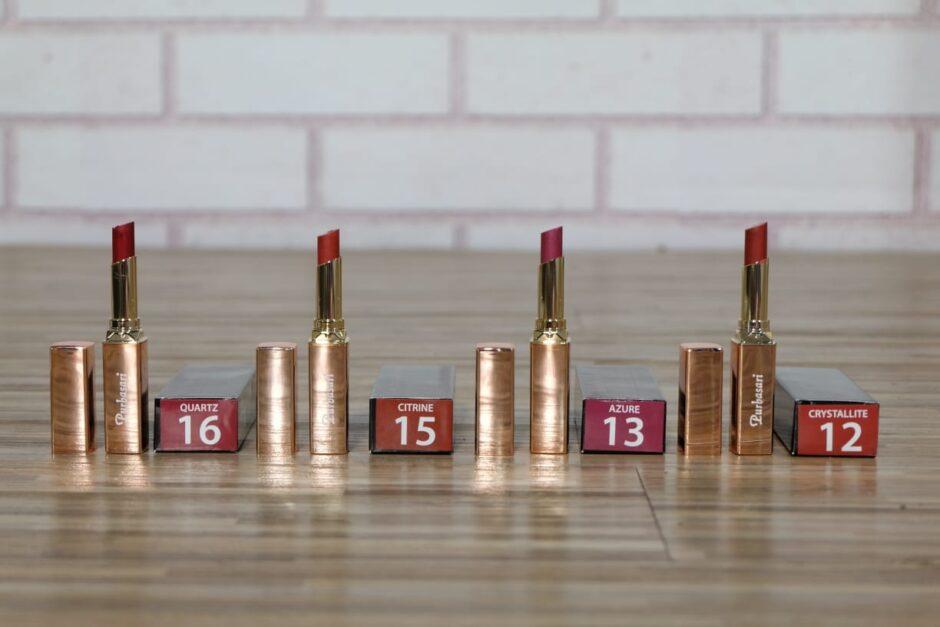 Purbasari Lipstick Color Matte Shimmer