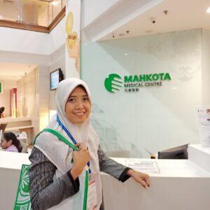 Suzan di Mahkota Medical Centre