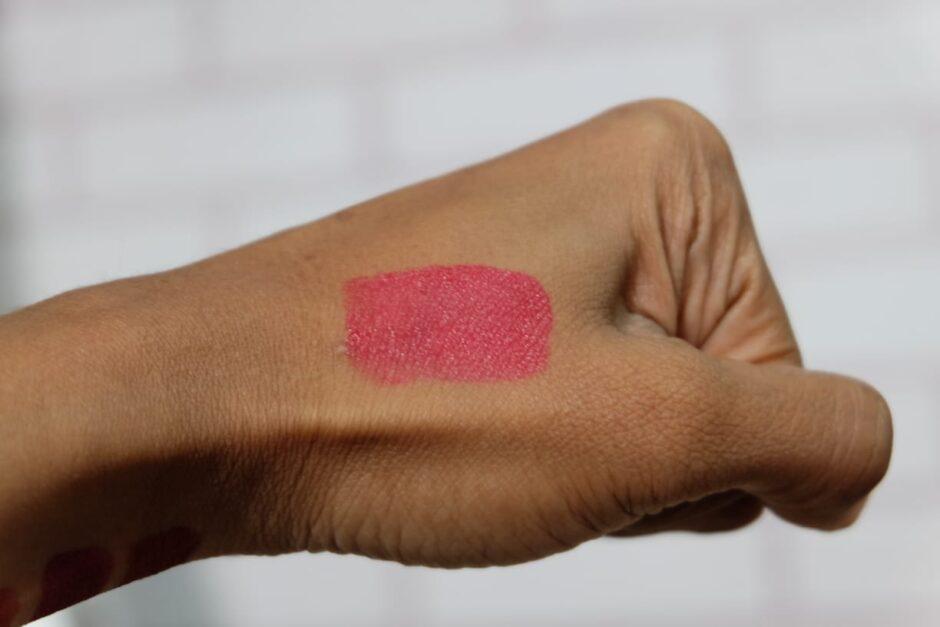 Swatch Purbasari Lip Tint