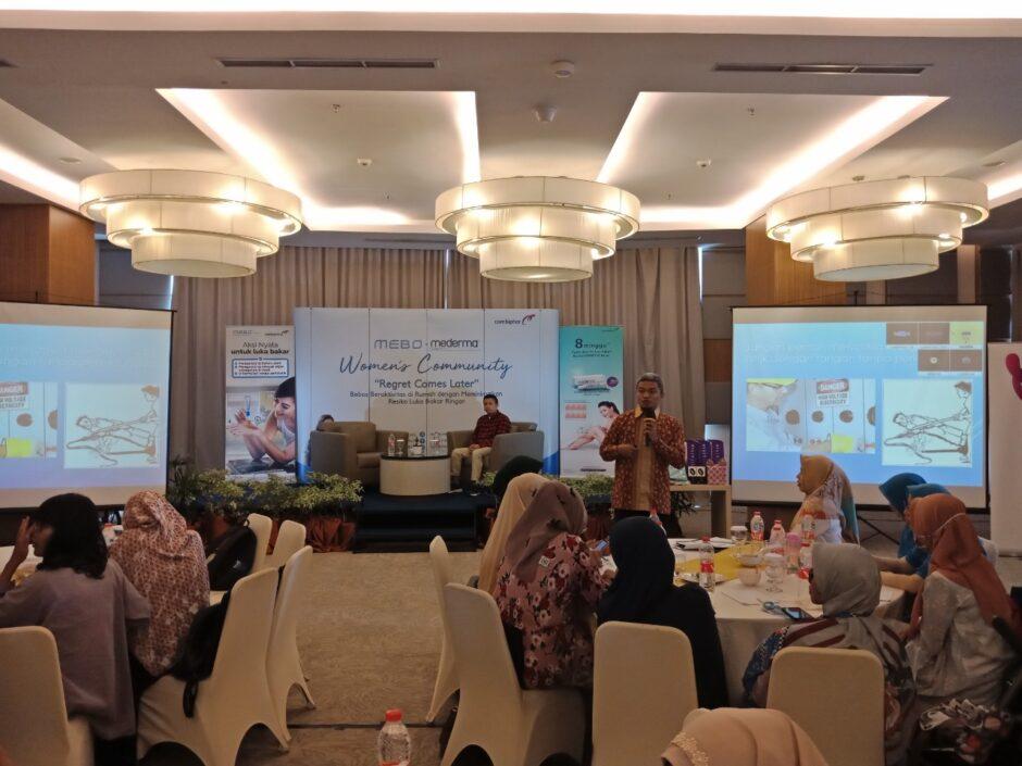 Event Mebo Mederma Palembang