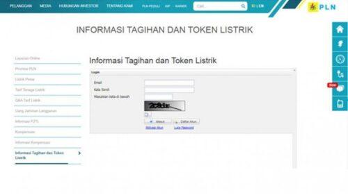 Cek Tagihan Listrik PLN Online