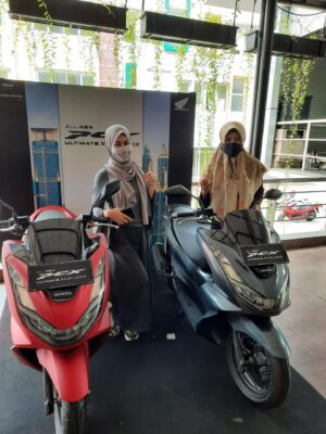 Sehari bersama All New Honda PCX 160