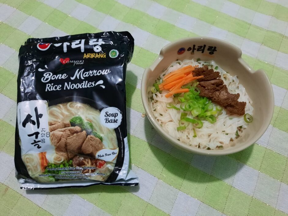 ARIRANG BONE MARROW Rice Noodle
