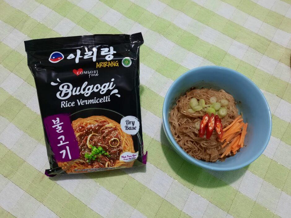 ARIRANG BULGOGI Rice Vermicellli