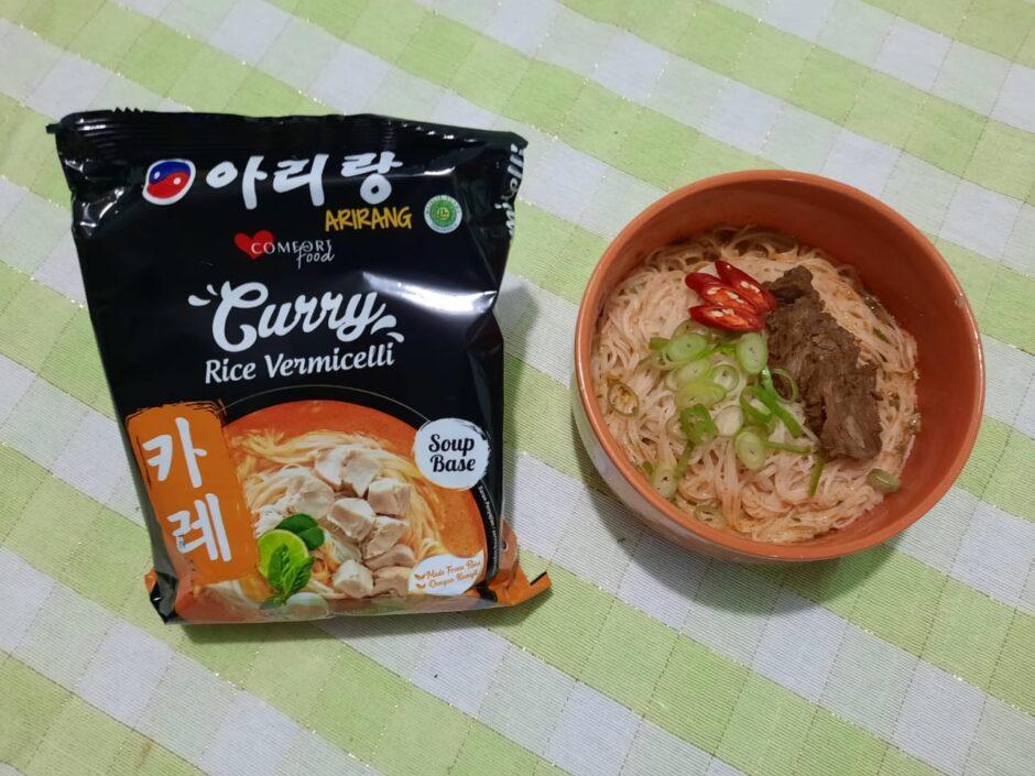 ARIRANG Curry Rice Vermicellli