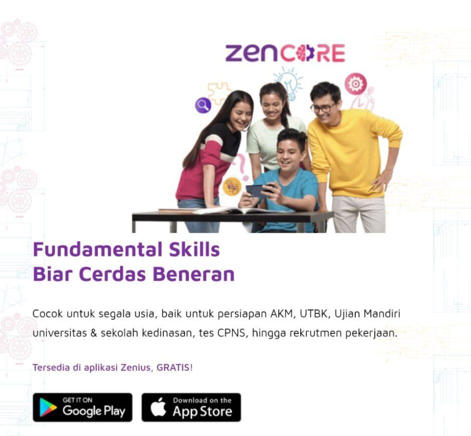 Zenius menghadirkan teknologi terbaru ZenCore yang menjadikan anak jadi lebih produktif.
