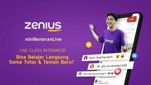Zenius Education belajar online